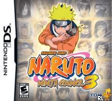 Naruto - Ninja Council 3 (U)(XenoPhobia) Box Art