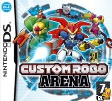 Custom Robo Arena (E)(Wet 'N' Wild) Box Art