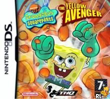 Spongebob Squarepants - The Yellow Avenger (E)(Sir VG) Box Art