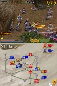 Dynasty Warriors DS - Fighter's Battle (U)(XenoPhobia) Screen Shot
