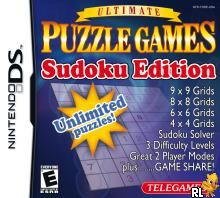 Ultimate Puzzle Games - Sudoku Edition (U)(SQUiRE) Box Art