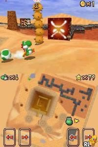 Super Mario 64 DS (K)(Sir VG) Screen Shot