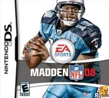 madden nfl 08 (u)(dominent) Box Art