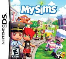 MySims (U)(Mr. 0) Box Art