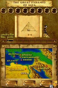 7 Wonders of the Ancient World (U)(SQUIRE) Screen Shot