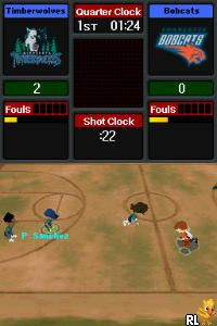 Backyard Basketball (U)(Micronauts) Screen Shot