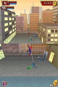 Spider-Man - Friend or Foe (U)(XenoPhobia) Screen Shot