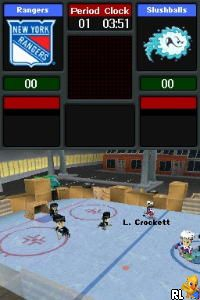 backyard hockey u micronauts screen shot
