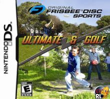 Original Frisbee Disc Sports - Ultimate & Golf (U)(EXiMiUS) Box Art