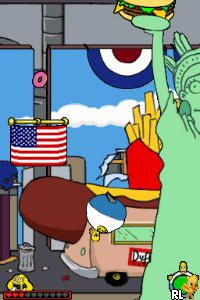 Simpsons Game, The (U)(Micronauts) Screen Shot
