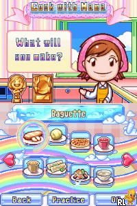 Cooking Mama 2 - Dinner With Friends (U)(XenoPhobia) Screen Shot