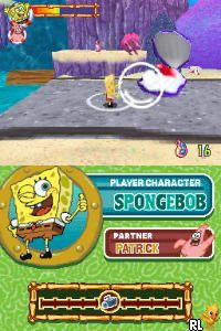 SpongeBob's Atlantis SquarePantis (U)(Micronauts) Screen Shot