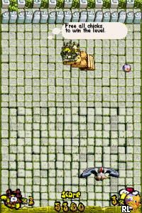 Chicken Attack DS (E)(Cyber-T) Screen Shot
