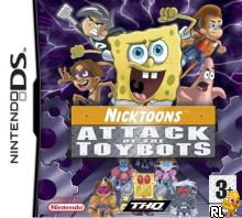 Nicktoons - Attack of the Toybots (E)(EXiMiUS) Box Art