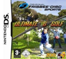 Original Frisbee Disc Sports - Ultimate & Golf (E)(sUppLeX) Box Art