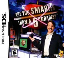 Are You Smarter than a 5th Grader (U)(Sir VG) Box Art