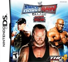 WWE SmackDown! vs. Raw 2008 featuring ECW (U)(XenoPhobia) Box Art