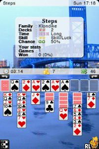 Solitaire DS (E)(Independent) Screen Shot