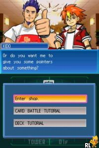 SNK vs. Capcom - Card Fighters DS (E)(EXiMiUS) Screen Shot