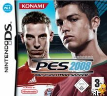Pro Evolution Soccer 2008 (E)(EXiMiUS) Box Art