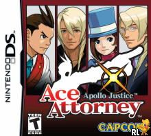 Apollo Justice - Ace Attorney (U)(Independent) Box Art
