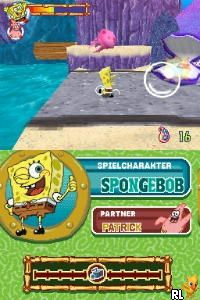 SpongeBob's Atlantis SquarePantis (E)(EXiMiUS) Screen Shot