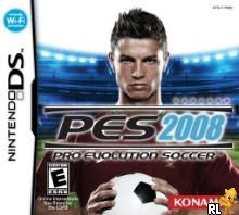 Pro Evolution Soccer 2008 (U)(SQUiRE) Box Art