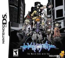 World Ends With You, The (U)(SQUiRE) Box Art
