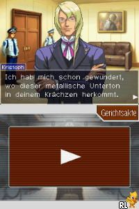 Apollo Justice - Ace Attorney (E)(EXiMiUS) Screen Shot