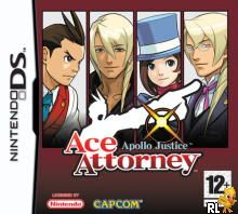 Apollo Justice - Ace Attorney (E)(XenoPhobia) Box Art