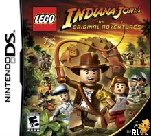 LEGO Indiana Jones - The Original Adventures (U)(Micronauts) Box Art
