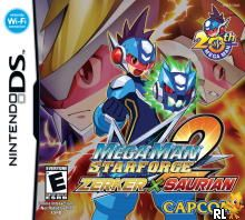 MegaMan Star Force 2 - Zerker x Saurian (U)(XenoPhobia) Box Art