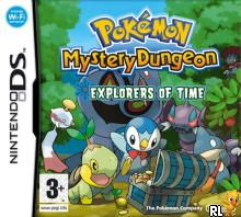 Pokemon Mystery Dungeon - Explorers of Time (E)(EXiMiUS) Box Art