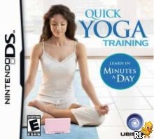 Quick Yoga Training - Learn in Minutes a Day (U)(SQUiRE) Box Art