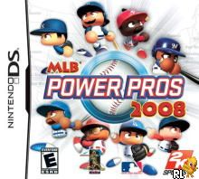 MLB Power Pros 2008 (U)(Venom) Box Art