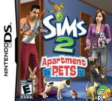 Sims 2 - Apartment Pets, The (U)(XenoPhobia) Box Art