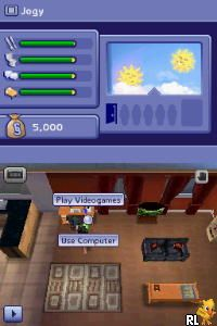 Sims 2 - Apartment Pets, The (E)(DSRP) Screen Shot