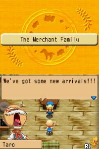 Harvest Moon DS - Island of Happiness (U)(JunkRat) Screen Shot