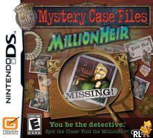 Mystery Case Files - MillionHeir (U)(GUARDiAN) ROM < NDS ROMs