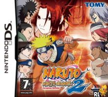 Naruto - Ninja Council 2 - European Version (E)(EXiMiUS) Box Art