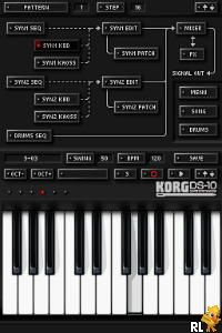 KORG DS-10 - Synthesizer (E)(SQUiRE) Screen Shot