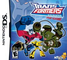Transformers Animated - The Game (U)(XenoPhobia) Box Art