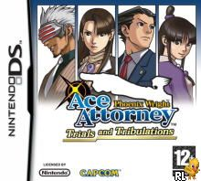 Phoenix Wright - Ace Attorney - Trials and Tribulations (E)(XenoPhobia) Box Art