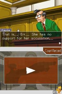 Phoenix Wright - Ace Attorney - Trials and Tribulations (E)(XenoPhobia) Screen Shot