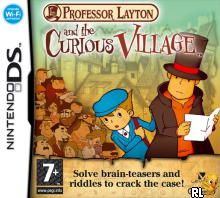 Professor Layton and the Curious Village (E)(EXiMiUS) Box Art