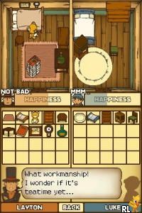 Professor Layton and the Curious Village (E)(EXiMiUS) Screen Shot