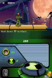 Ben 10 - Alien Force (v01) (U)(XenoPhobia) Screen Shot