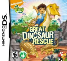 Go, Diego, Go! - Great Dinosaur Rescue (U)(XenoPhobia) Box Art