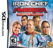 Iron Chef America - Supreme Cuisine (U)(XenoPhobia) Box Art