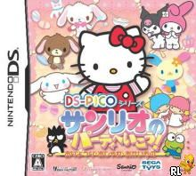 DS Pico Series - Sanrio no Party e Ikou! Oryouri - Oshare - Okaimono (J)(Independent) Box Art